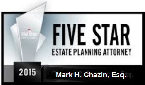 Five Star Estate Planning Attorney 2015